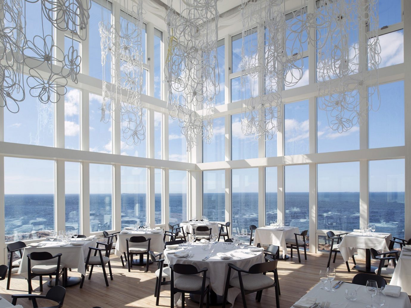 Beach Hotels Islands Luxury Travel Trip Ideas indoor window Architecture estate interior design Design headquarters convention center palace plaza several