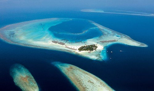 Hotels Nature marine biology landform geographical feature reef Ocean archipelago Sea atoll biology blue arctic ocean Island islet coral reef