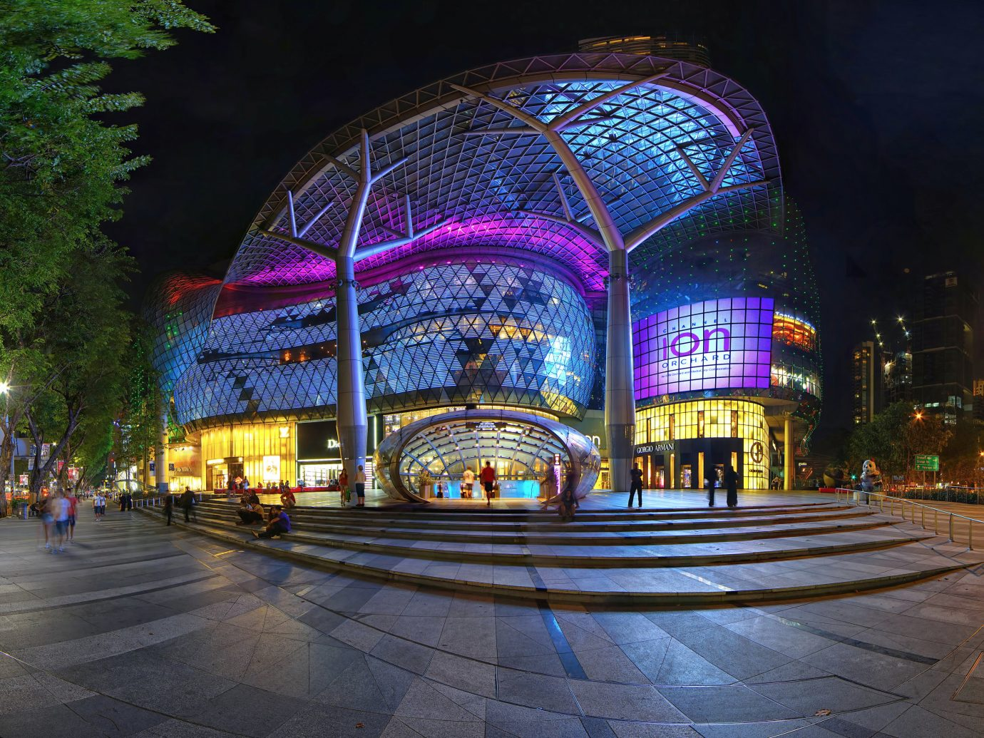 Offbeat Singapore Trip Ideas outdoor road metropolitan area night street landmark City urban area light human settlement cityscape Downtown evening lighting way colorful bright colored