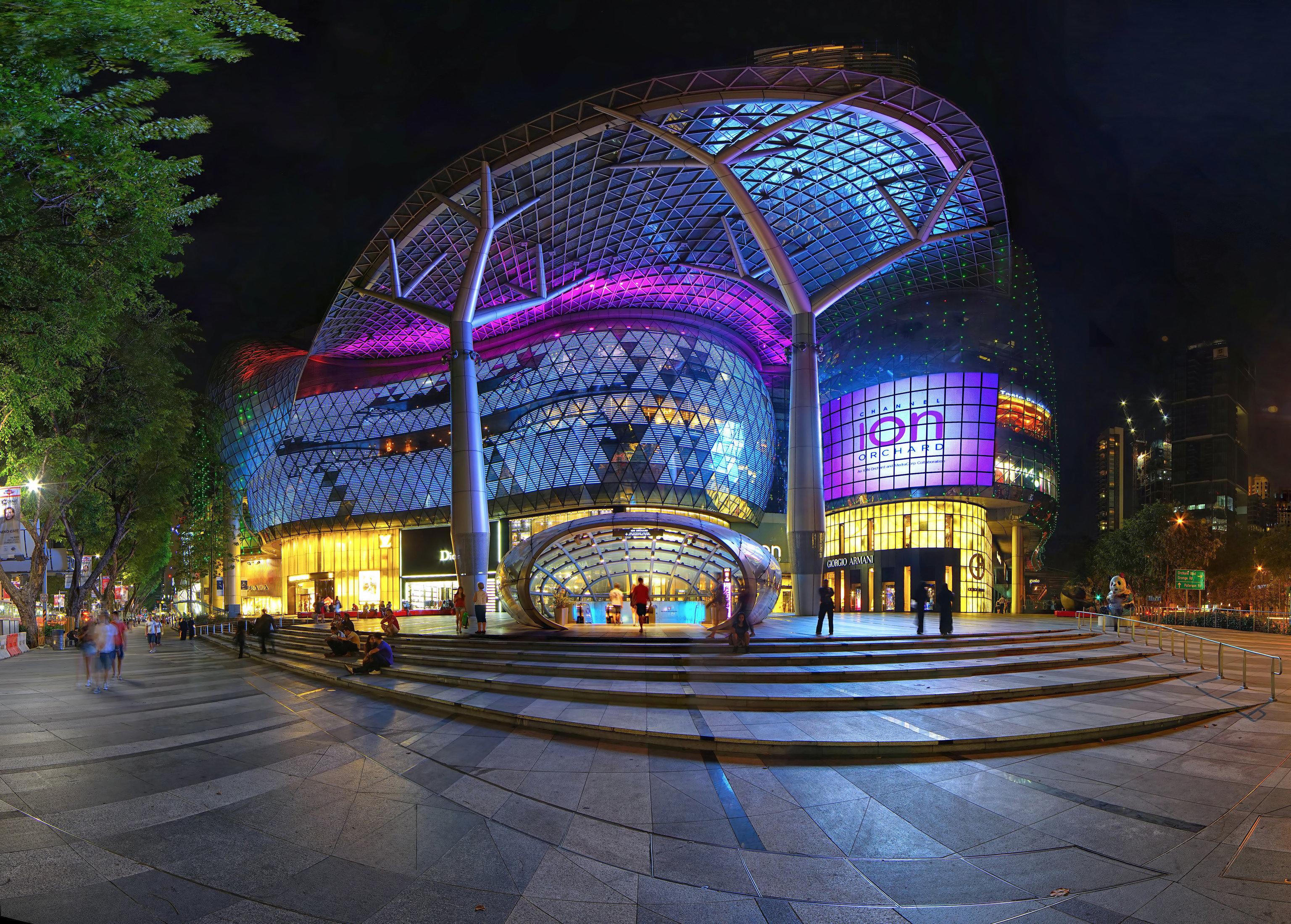 Offbeat Singapore Trip Ideas outdoor road metropolitan area night street landmark City urban area light human settlement cityscape Downtown evening lighting way colorful bright colored