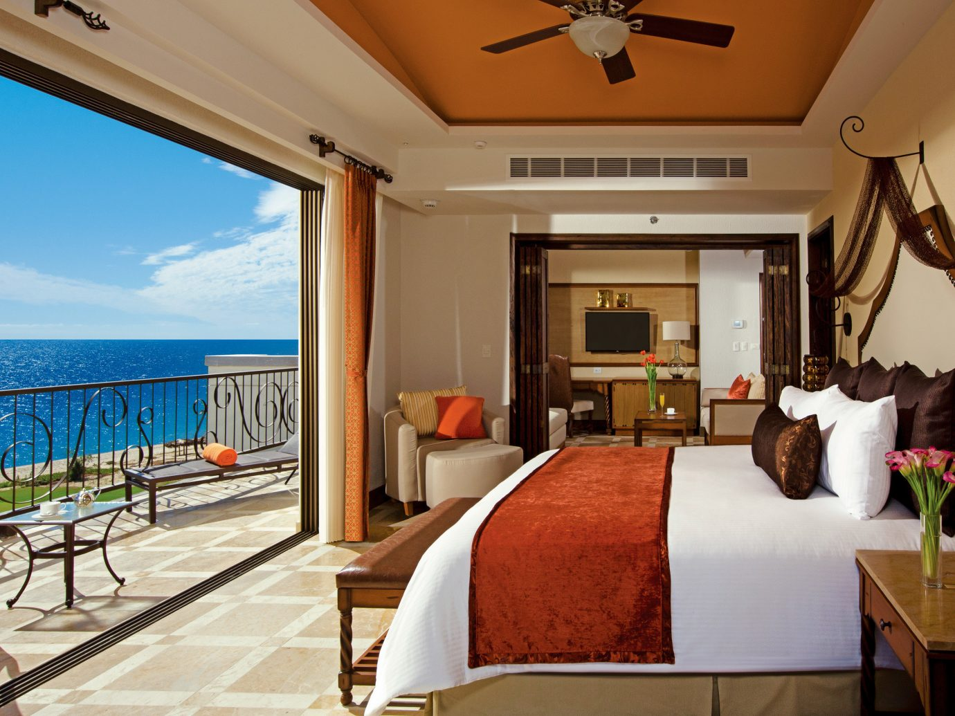 Bedroom at Secrets Puerto Los Cabos Golf & Spa Resort