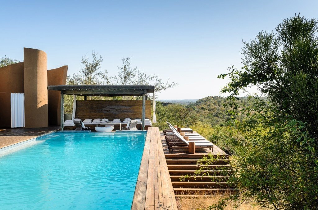 Luxury Travel Outdoors + Adventure Safaris Trip Ideas outdoor tree sky leisure property swimming pool building house vacation estate Villa Resort real estate backyard Pool area swimming