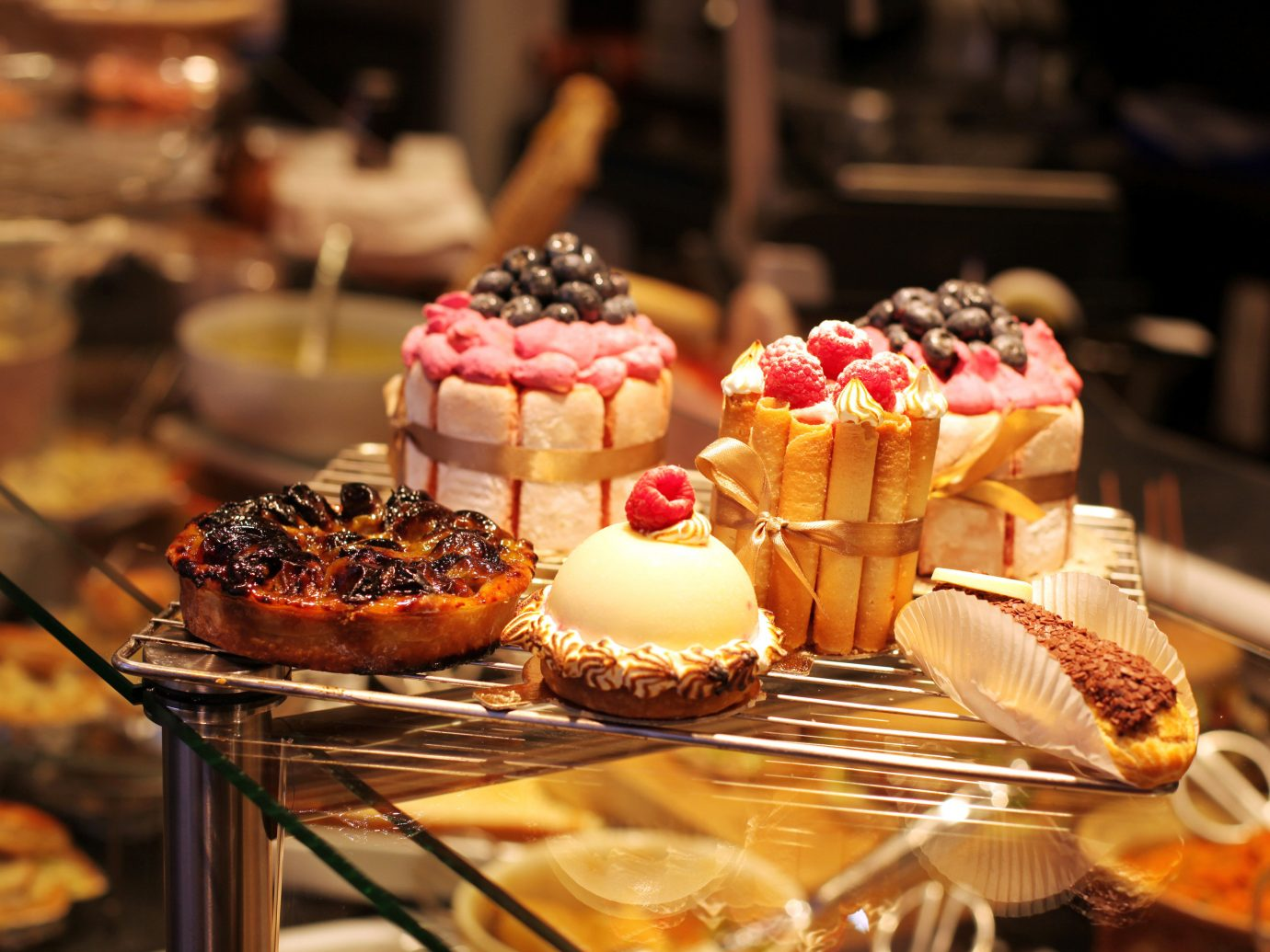 Food + Drink indoor table meal food dessert pâtisserie buffet brunch breakfast sweetness pastry baking flavor