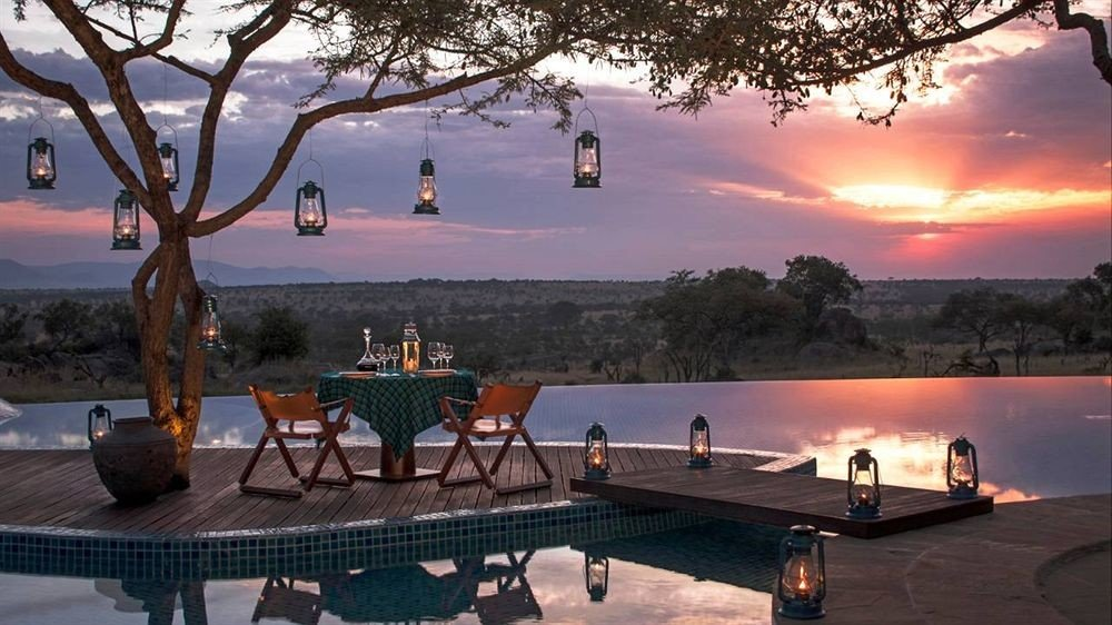 Infinity Pool At The Four Seasons Safari Lodge Serengeti, Tanzania