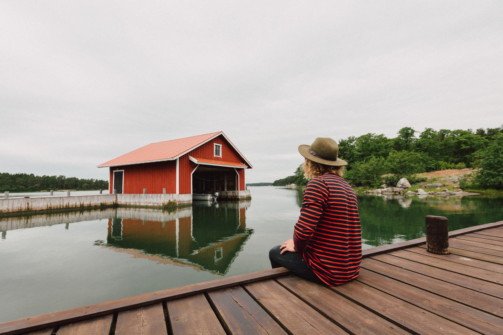 Trip Ideas outdoor sky water house wooden building vacation roof boathouse home cottage wood outdoor structure dock walkway