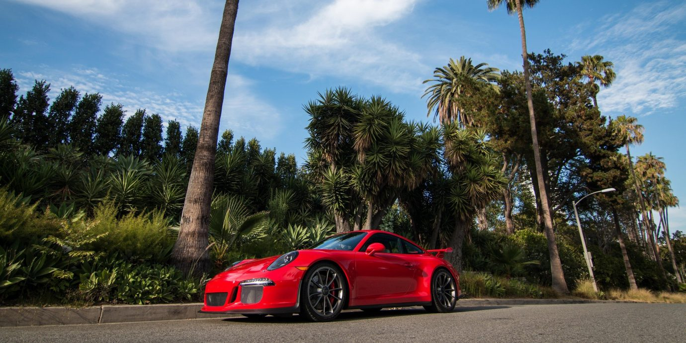 Hotels Offbeat tree sky outdoor road car vehicle land vehicle sports car palm red supercar automotive design luxury vehicle wheel automobile make performance car plant coupé