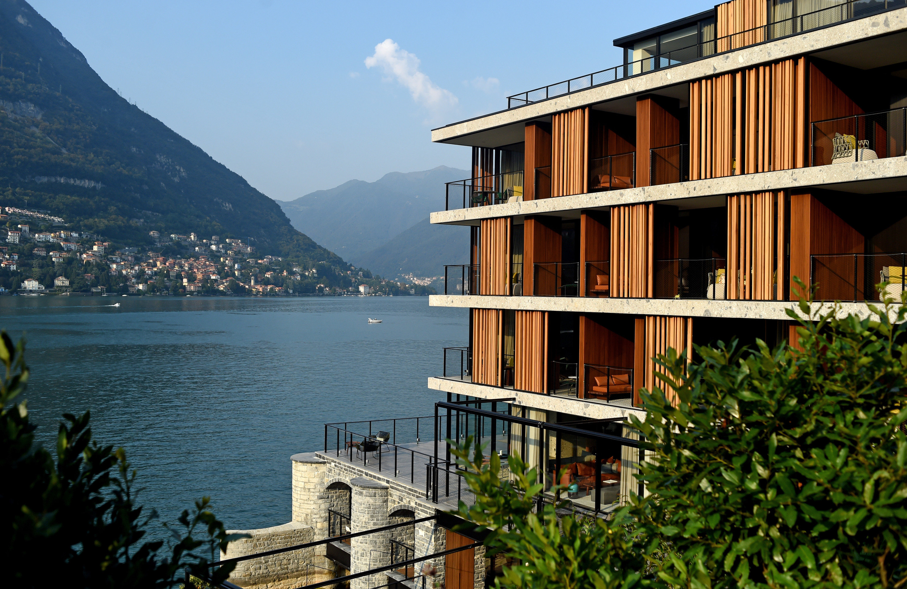 Hotels outdoor sky mountain water house Town vacation condominium estate Resort Sea apartment
