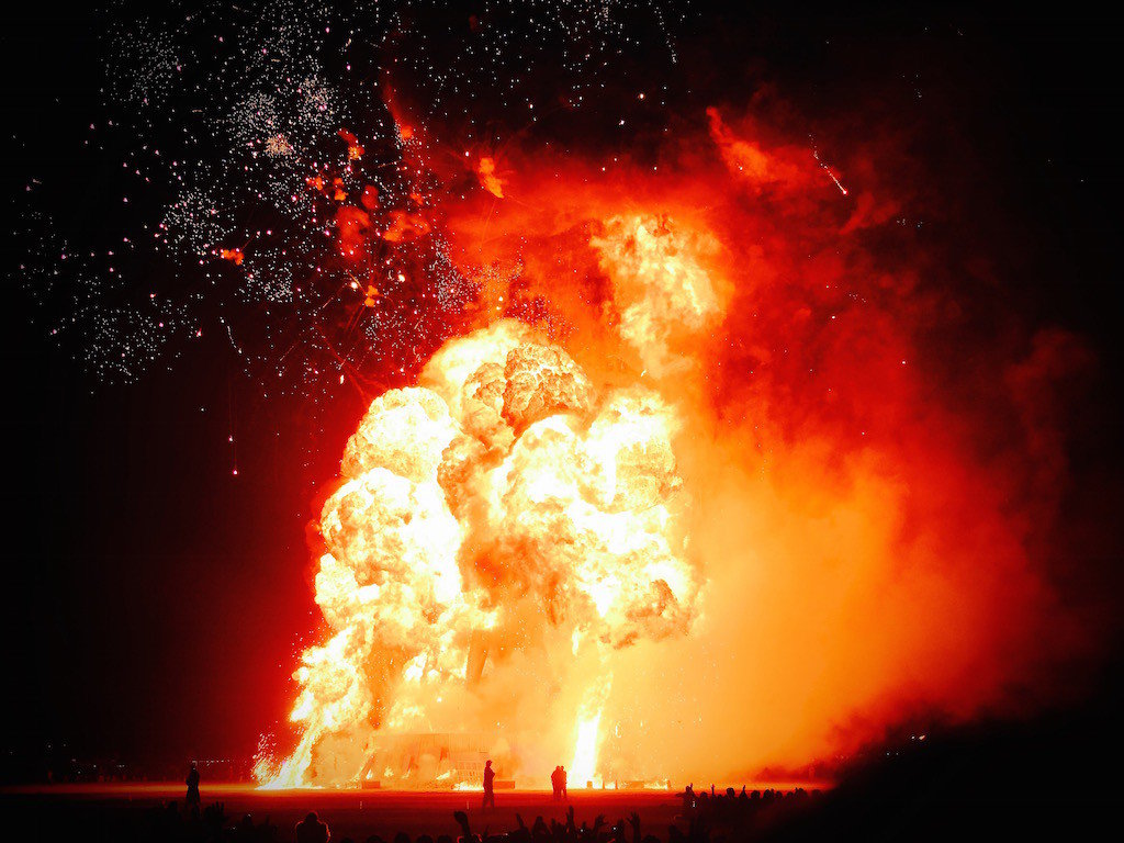 Trip Ideas geological phenomenon explosion bright bonfire smoke clouds mountain dark blurry