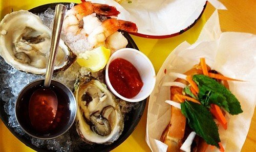 Hotels food dish cuisine meal asian food fish hors d oeuvre chinese food Seafood restaurant lunch different piece de resistance