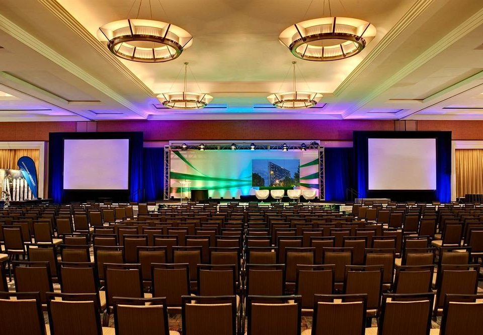 auditorium function hall conference hall convention stage convention center academic conference ballroom theatre audience meeting hall