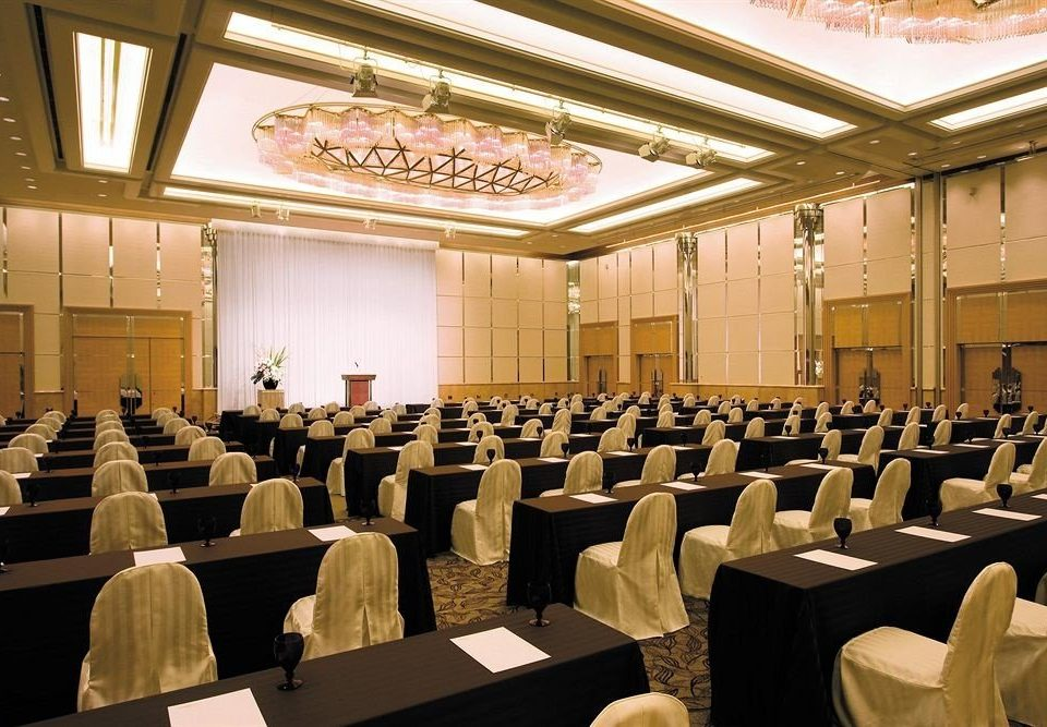 auditorium conference hall function hall academic conference seminar convention meeting convention center full ballroom audience long lined line