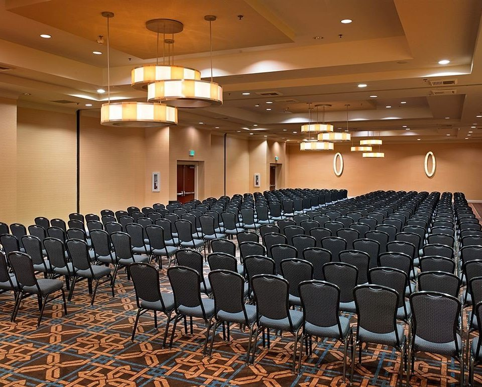auditorium conference hall academic conference convention function hall meeting convention center audience ballroom lined hall line