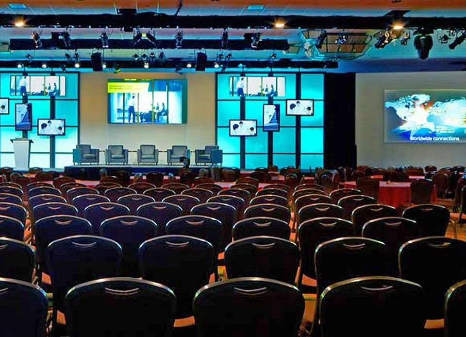 auditorium audience conference hall convention academic conference stage movie theater theatre meeting conference room