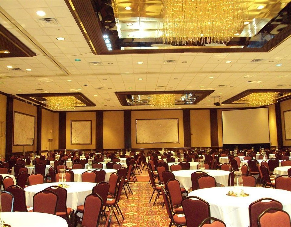 function hall scene auditorium conference hall convention banquet academic conference convention center meeting ballroom restaurant