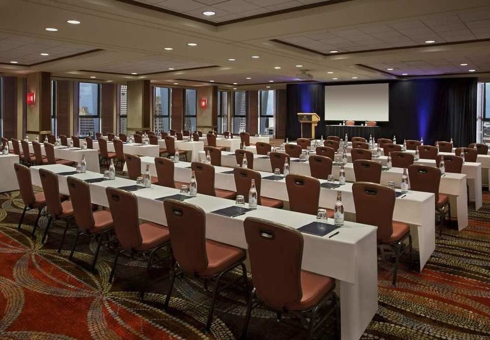 chair function hall auditorium conference hall banquet convention meeting convention center academic conference restaurant ballroom conference room
