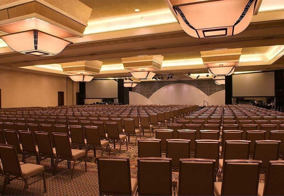 auditorium chair function hall conference hall stage convention ballroom banquet convention center theatre academic conference meeting