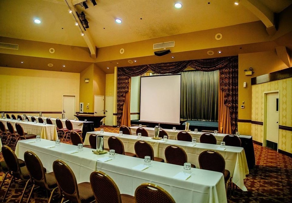 auditorium function hall conference hall scene restaurant convention center meeting ballroom convention banquet academic conference conference room