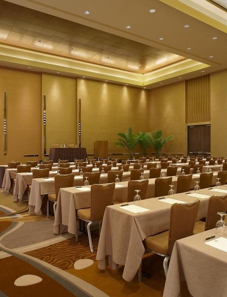 function hall conference hall auditorium banquet meeting convention convention center ballroom restaurant academic conference seminar long line