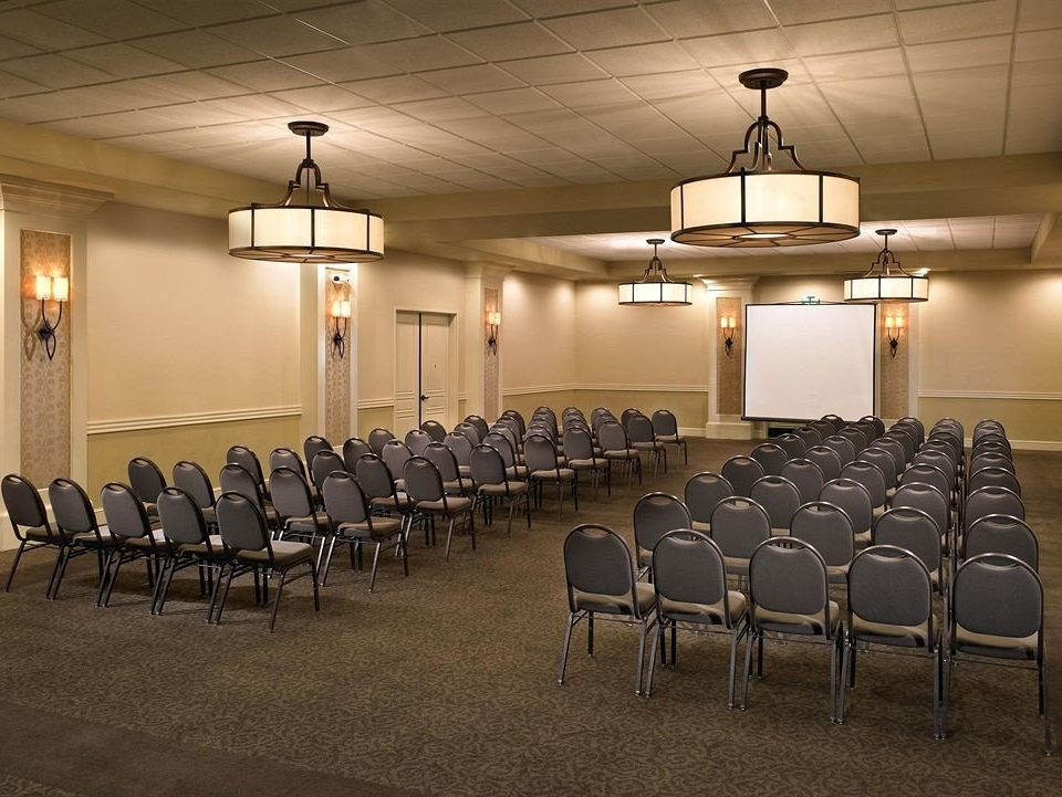 chair auditorium conference hall function hall convention center ballroom meeting academic conference banquet convention bunch line lined conference room