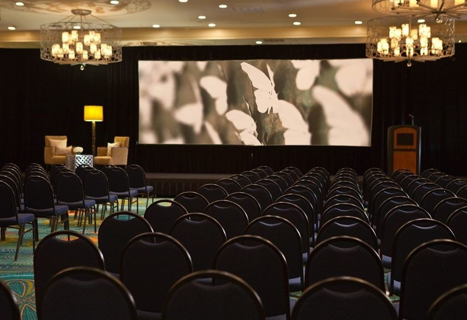 auditorium function hall stage conference hall academic conference convention ballroom meeting banquet dark line conference room