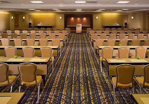 chair auditorium function hall conference hall convention convention center meeting ballroom academic conference
