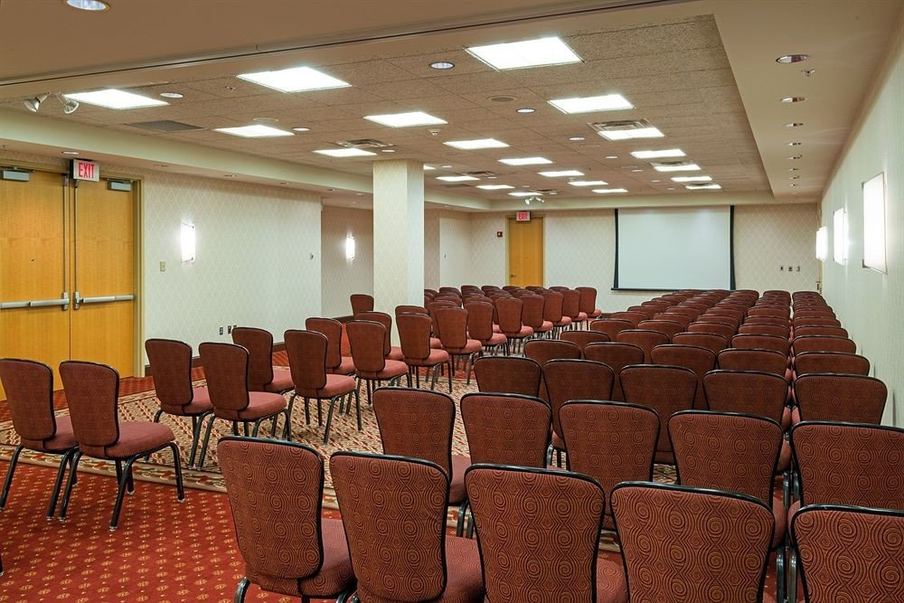 chair auditorium conference hall function hall meeting convention academic conference convention center classroom ballroom theatre empty conference room