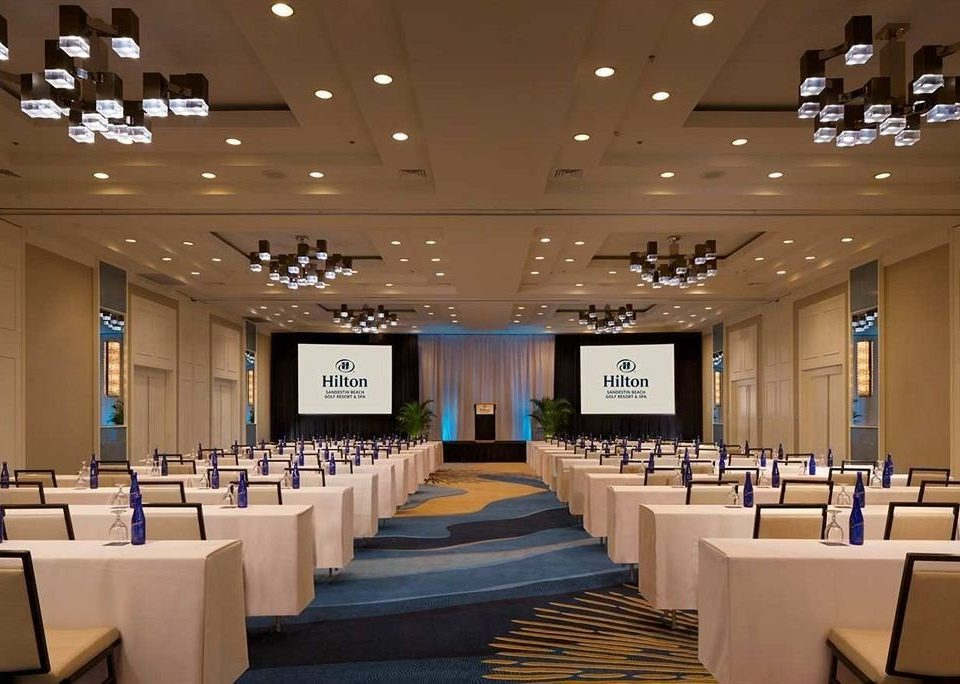 chair function hall auditorium conference hall convention convention center meeting ballroom academic conference lined line