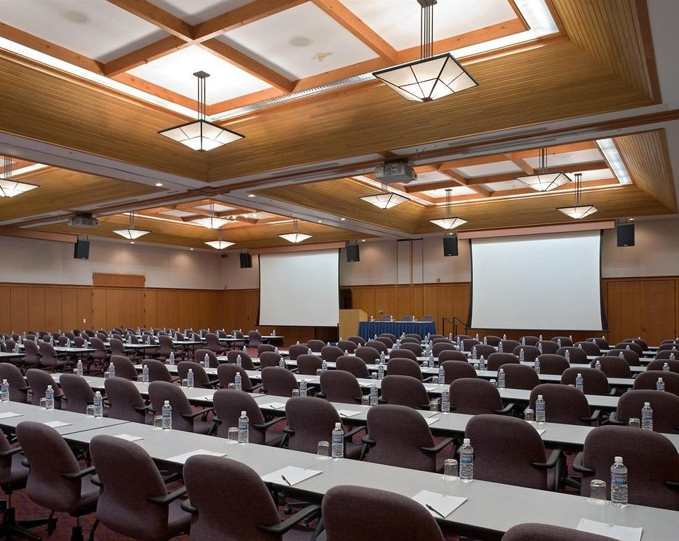 auditorium chair conference hall function hall academic conference meeting convention seminar convention center ballroom