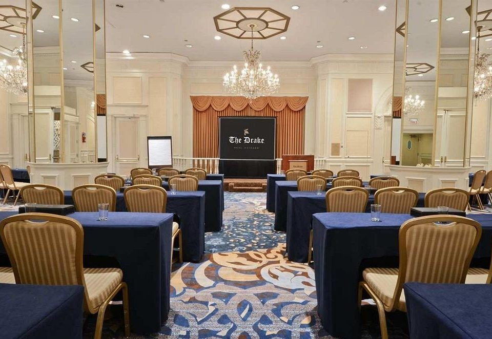 chair function hall conference hall meeting convention ballroom auditorium convention center academic conference set