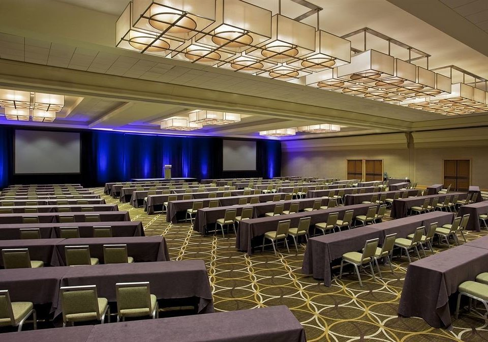 auditorium conference hall function hall convention center convention classroom meeting ballroom academic conference long lined line