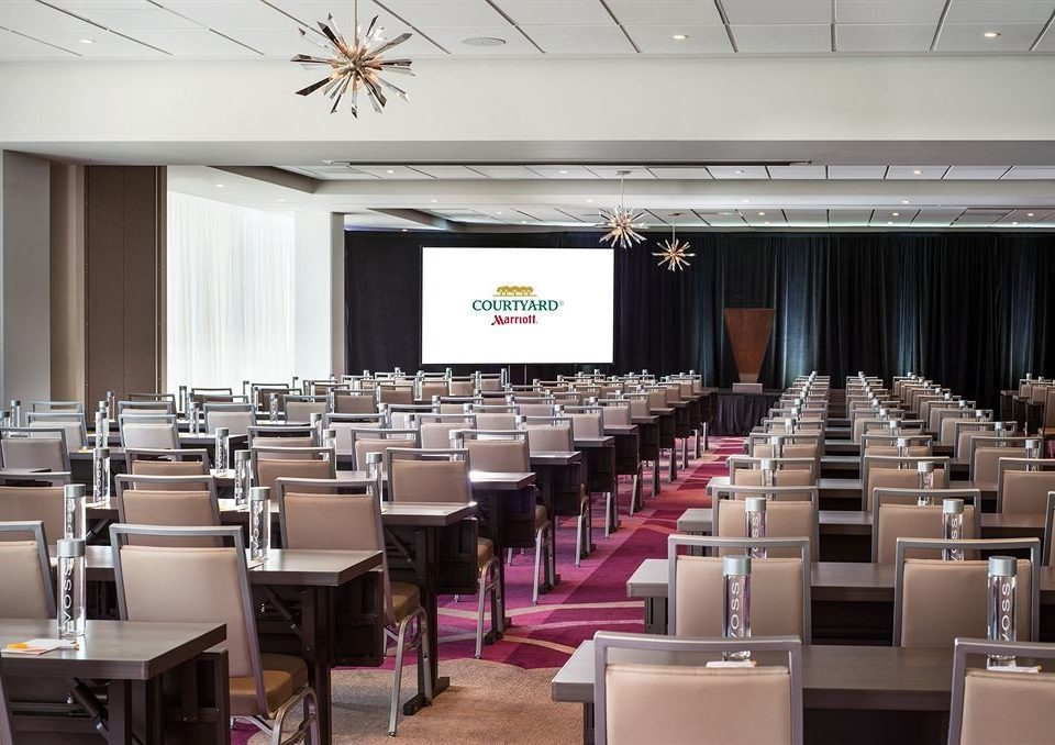 auditorium function hall conference hall meeting convention center academic conference convention seminar ballroom classroom