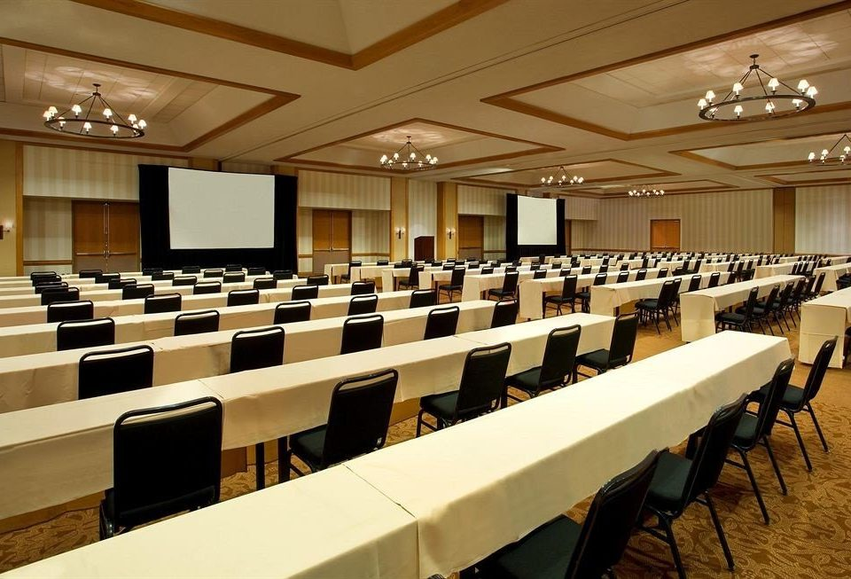 auditorium conference hall function hall classroom academic conference convention center meeting convention ballroom long conference room