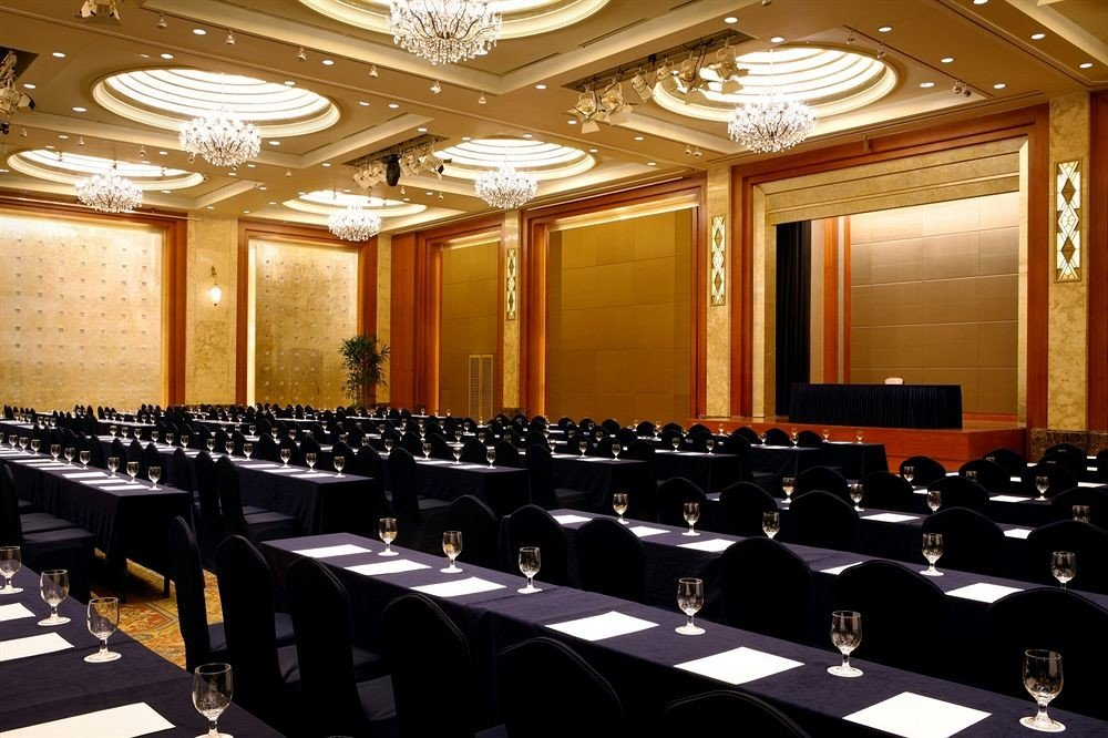 auditorium conference hall function hall meeting convention academic conference convention center long ballroom seminar lined line hall colored