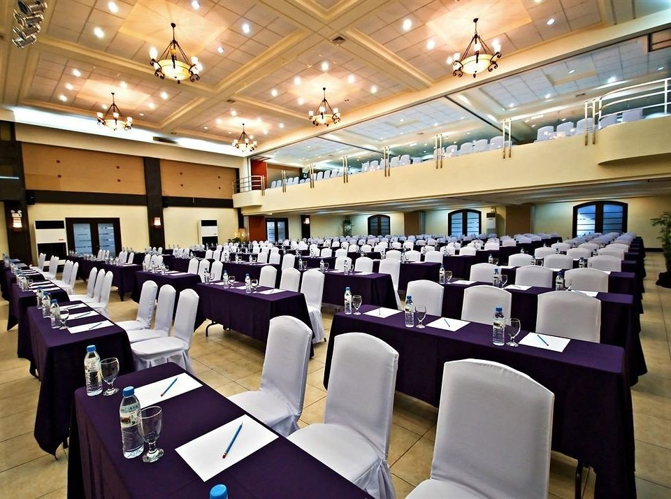 function hall conference hall auditorium scene convention center convention meeting ballroom academic conference restaurant