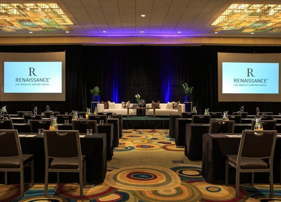 function hall conference hall convention academic conference meeting seminar convention center auditorium ballroom set