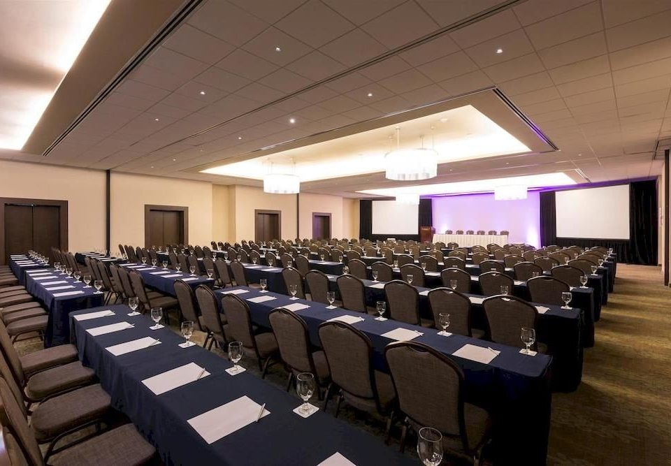 auditorium lined function hall row conference hall line convention academic conference long meeting convention center ballroom seminar