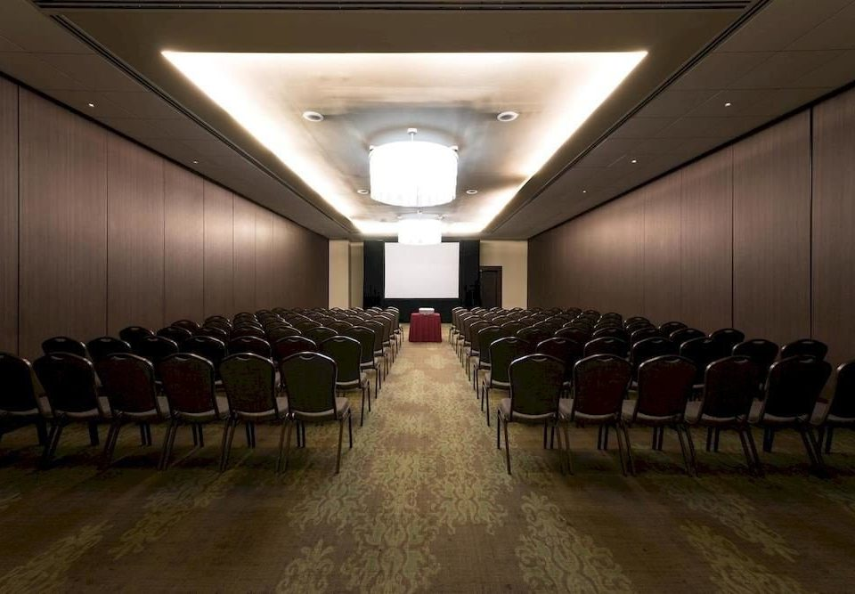 auditorium row conference hall lined hall convention center function hall convention long academic conference line basement