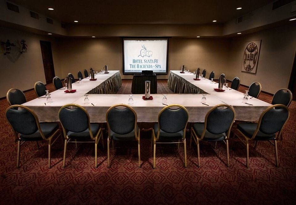 chair conference hall billiard room recreation room auditorium function hall convention academic conference games meeting set