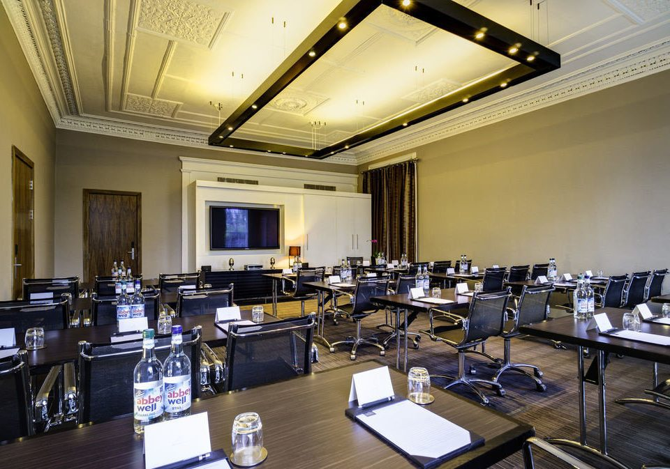 conference hall classroom function hall auditorium meeting convention center academic conference convention cluttered