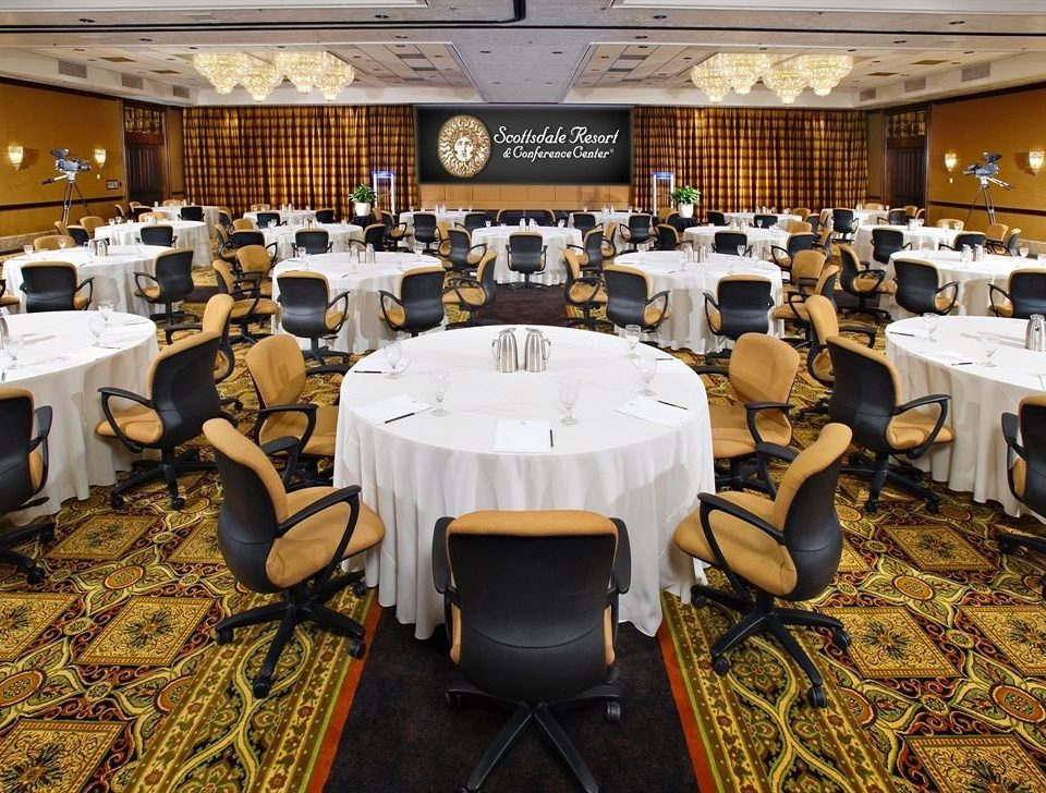 conference hall function hall convention meeting convention center academic conference auditorium restaurant cluttered