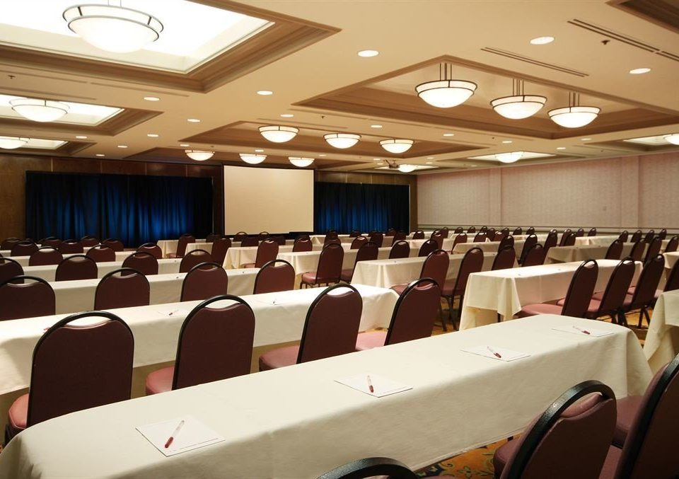 auditorium conference hall function hall academic conference meeting convention convention center seminar line