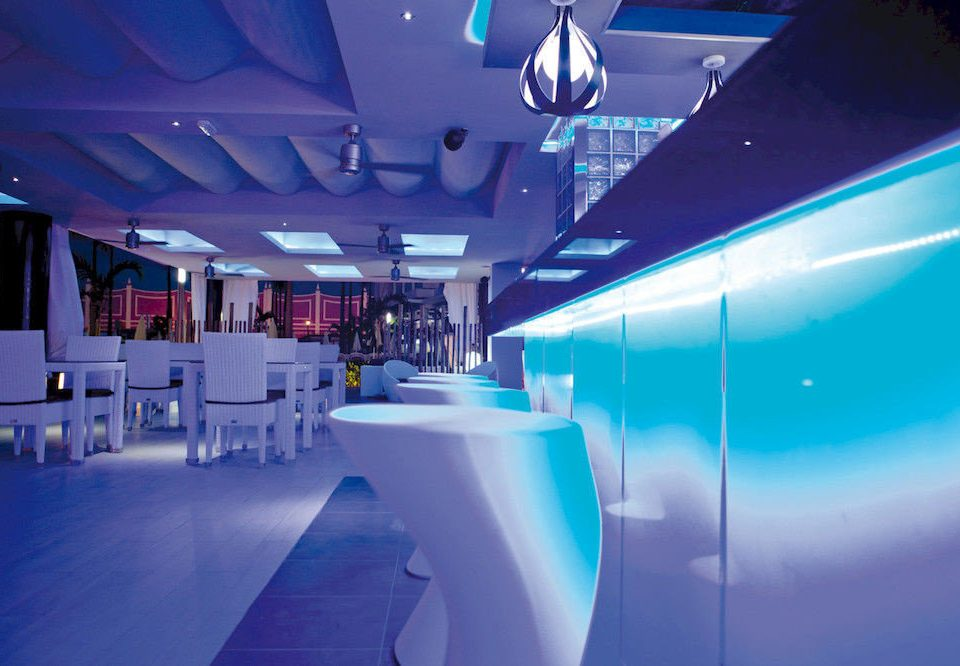 Adult-only All-inclusive Bar Drink blue lighting nightclub light