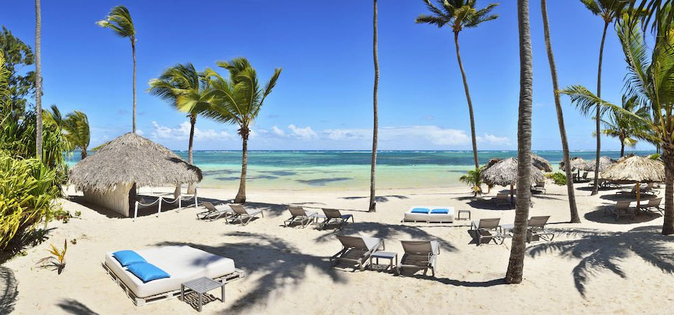 Adult-only All-inclusive Beach Beachfront Lounge Ocean Pool tree sky umbrella palm Resort Nature caribbean shore arecales Sea shade sandy plant lined day