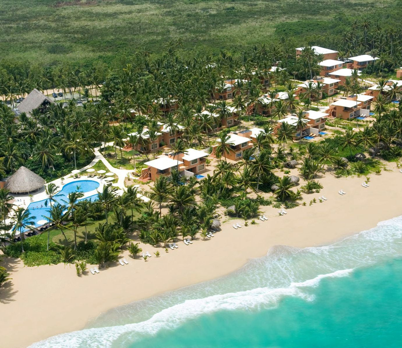 Adult-only All-inclusive Beachfront Boutique Grounds Honeymoon Romance water mountain Nature aerial photography Beach Sea Coast Resort residential area Water park caribbean shore