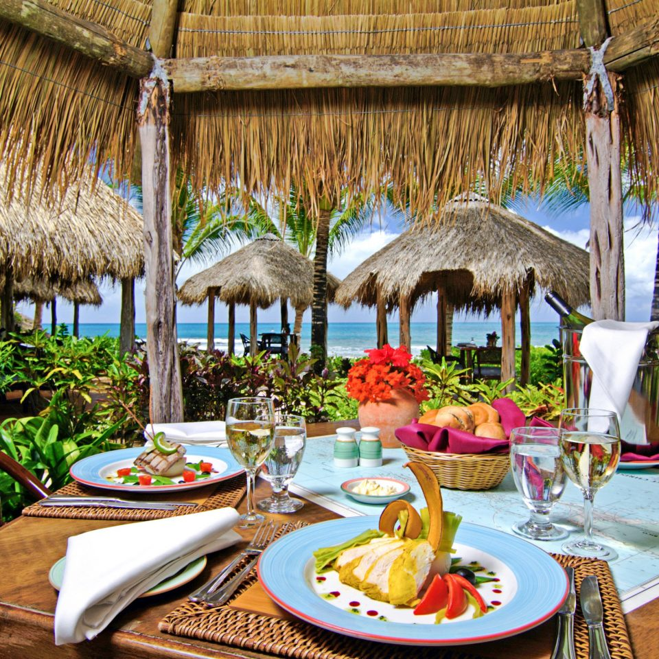 Adult-only All-inclusive Beachfront Dining Drink Eat Luxury Resort restaurant set