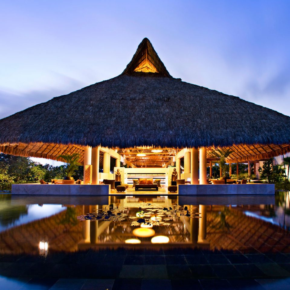 Adult-only All-inclusive Luxury Wellness sky water landmark Resort swimming pool evening