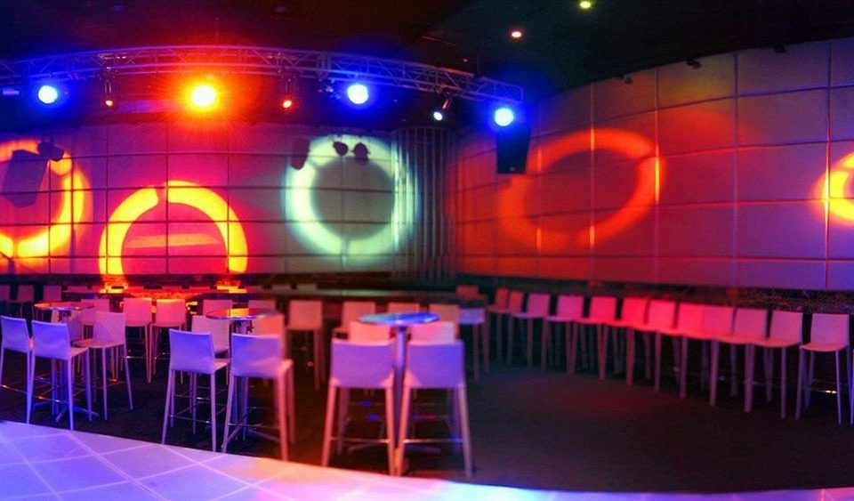 Adult-only All-inclusive Modern Nightlife Waterfront disco nightclub stage auditorium light music venue musical theatre function hall theatre