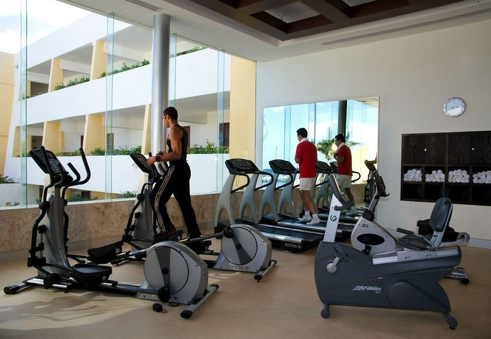 Adult-only All-inclusive Modern Waterfront Wellness structure gym sport venue leisure physical fitness
