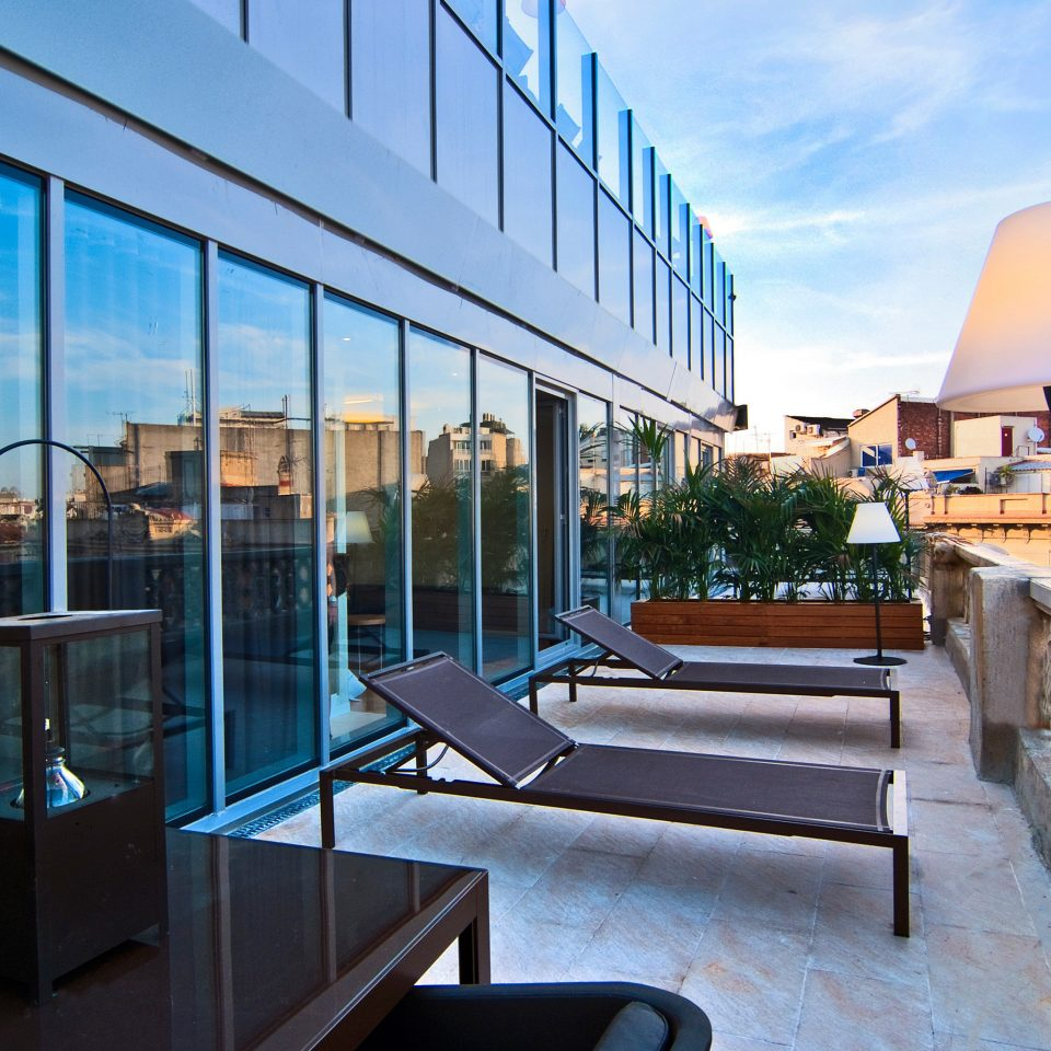 Adult-only Balcony City Hip sky building Architecture house condominium home headquarters professional