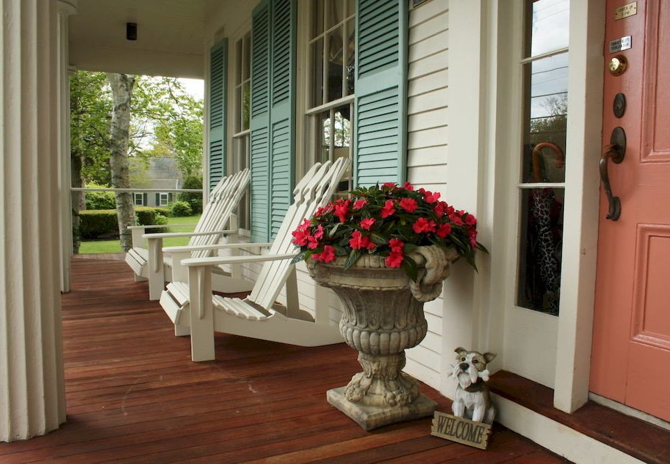 Adult-only B&B Balcony Historic Inn property home porch living room hardwood cottage wood flooring flooring
